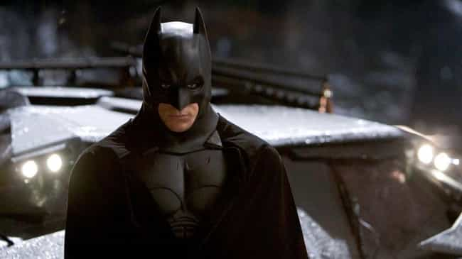 Batman is listed (or ranked) 1 on the list The Least Comfortable Superhero Costumes That Actors Have Had To Wear