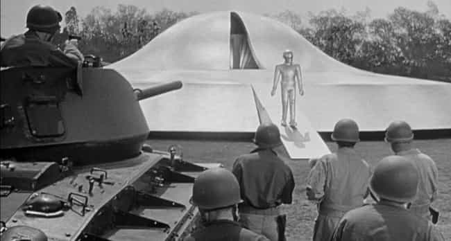 The Day the Earth Stood ... is listed (or ranked) 4 on the list 15 Movies Where Humans Are The Real Monsters