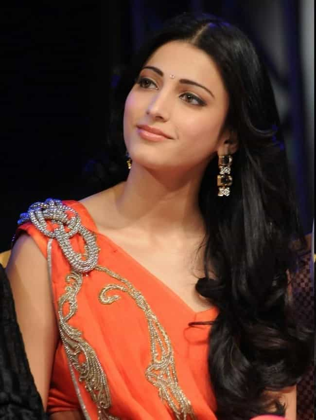 Shruti Haasan Is Listed Or Ranked 4 On The List The Most Beautiful Indian