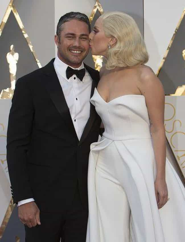 Taylor Kinney is listed (or ranked) 4 on the list Lady Gaga Loves and Hookups