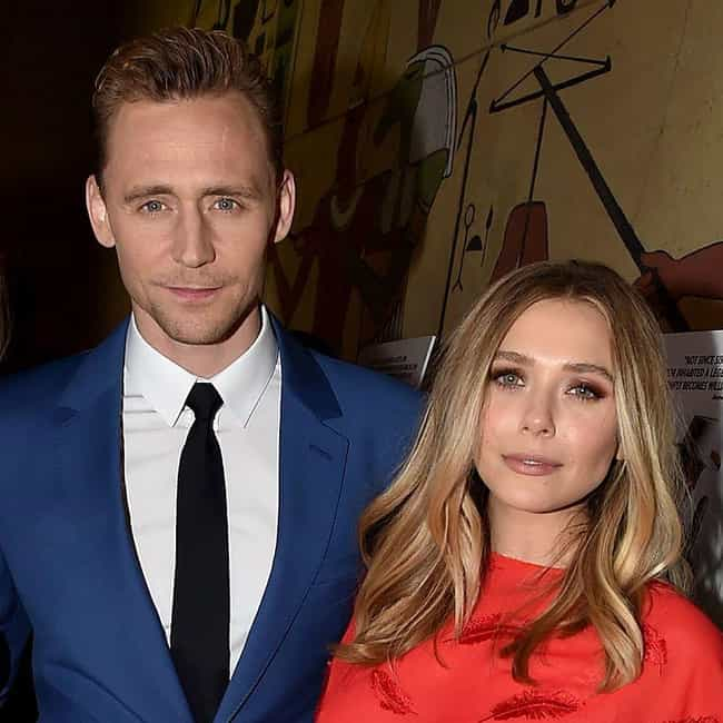 Tom Hiddleston is listed (or ranked) 3 on the list Elizabeth Olsen Loves And Hookups