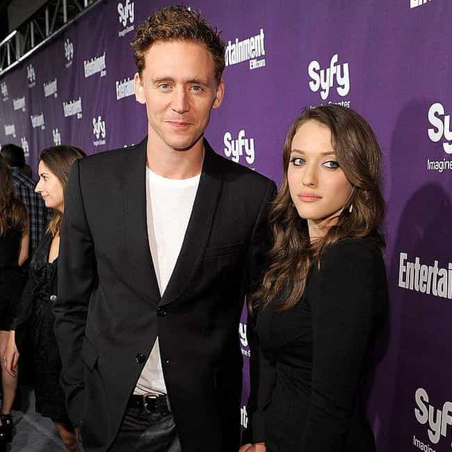 Tom Hiddleston is listed (or ranked) 4 on the list Kat Dennings Loves and Hookups