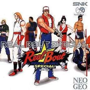 Real Bout Fatal Fury Special is listed (or ranked) 14 on the list The Best Sega Saturn Fighting Games