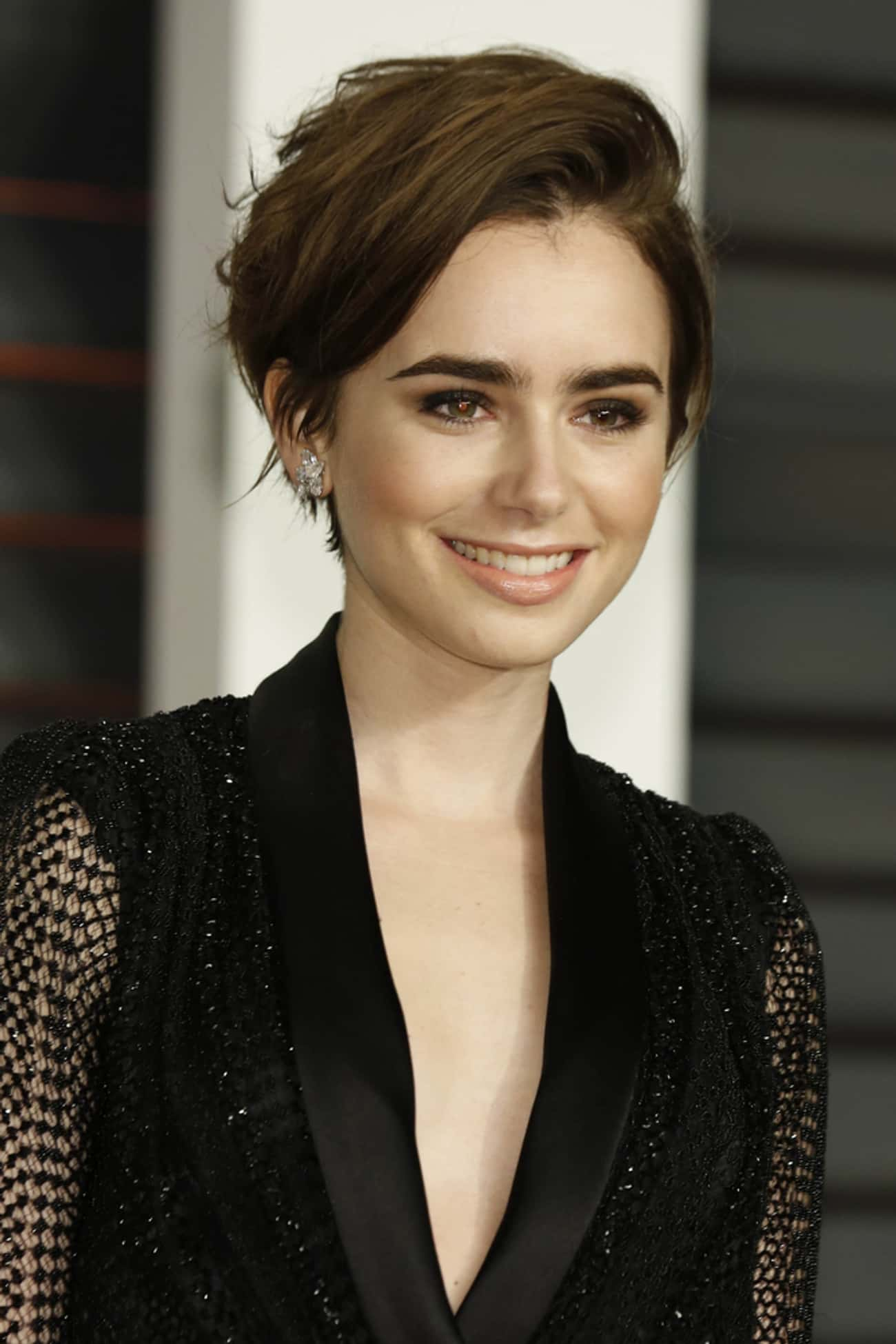 Lily Collins is listed (or ranked) 3 on the list 30+ Celebrities Who Believe in Ghosts
