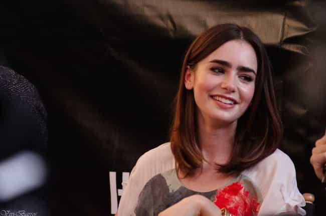Lily Collins is listed (or ranked) 1 on the list The Most Beautiful Women with Hazel Eyes