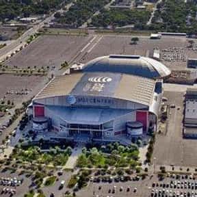 AT&T Center is listed (or ranked) 21 on the list The Best NBA Arenas