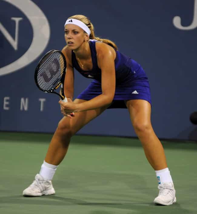 Sabine Lisicki is listed (or ranked) 3 on the list 10 Athletes with Celiac Disease