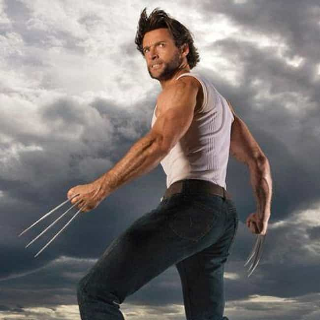 Hugh Jackman is listed (or ranked) 4 on the list The Hottest Male Celebrity Butts