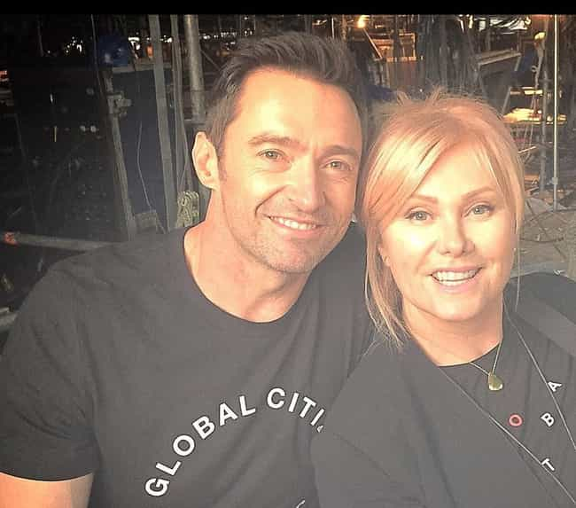 Hugh Jackman is listed (or ranked) 2 on the list Famous Men Who Married Older Women