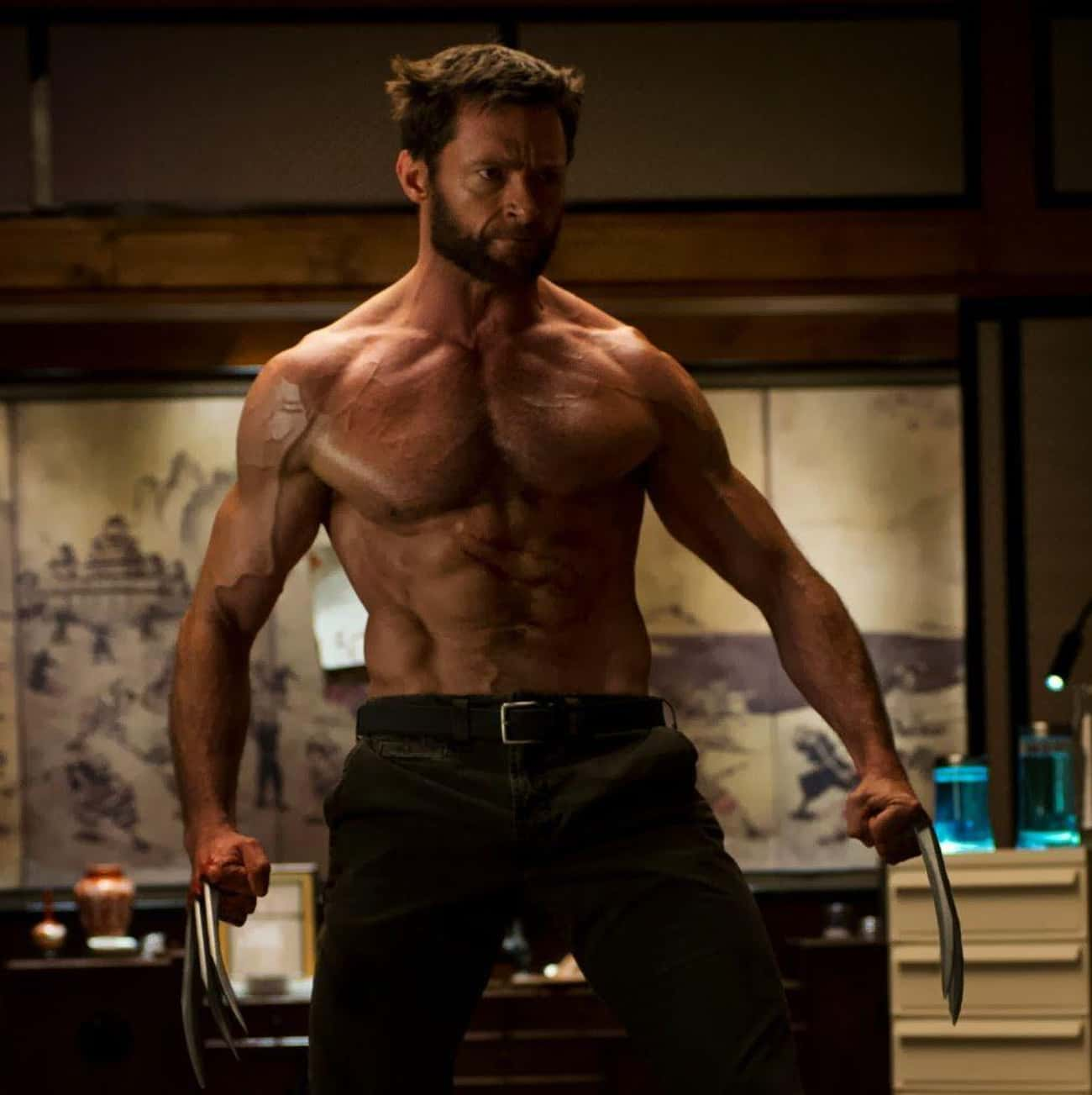 Hugh Jackman is listed (or ranked) 3 on the list The Male Celebrities With The Best Abs