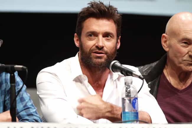 Hugh Jackman is listed (or ranked) 1 on the list The Hottest Celebrity Lumbersexuals
