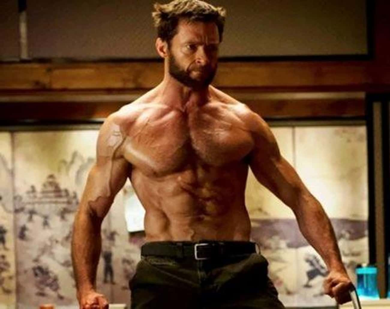 Hugh Jackman is listed (or ranked) 2 on the list Male Actors Who Are Definitely Taking Off Their Shirt In Movies