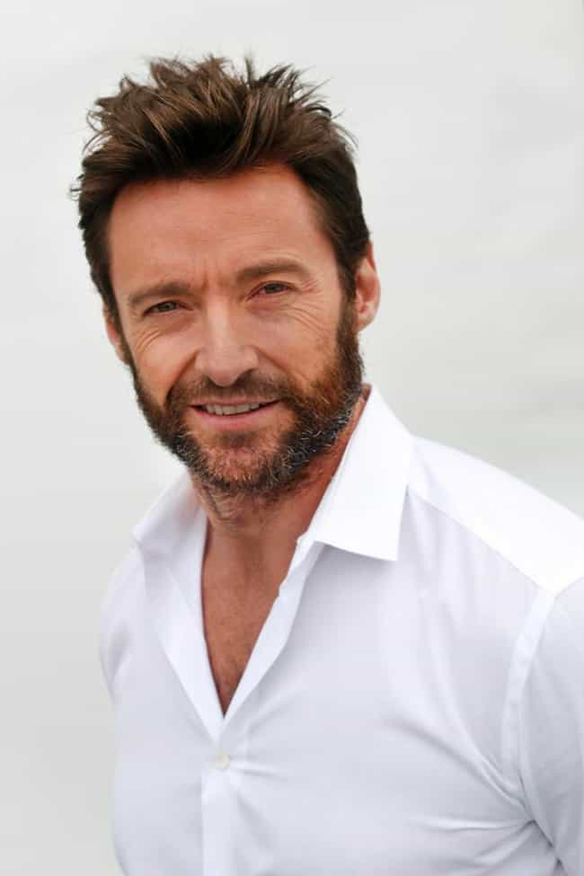 Hugh Jackman is listed (or ranked) 2 on the list The Hottest Celebrity Lumbersexuals