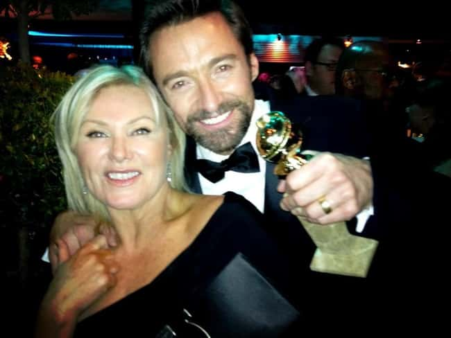 Hugh Jackman is listed (or ranked) 41 on the list 48 Famous Couples with Huge Age Differences