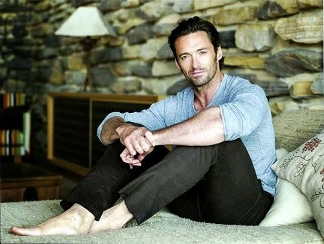 Hugh Jackman is listed (or ranked) 3 on the list Famous People Who Meditate