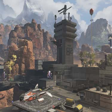 Airbase is listed (or ranked) 1 on the list The Best Places To Land In 'Apex Legends'