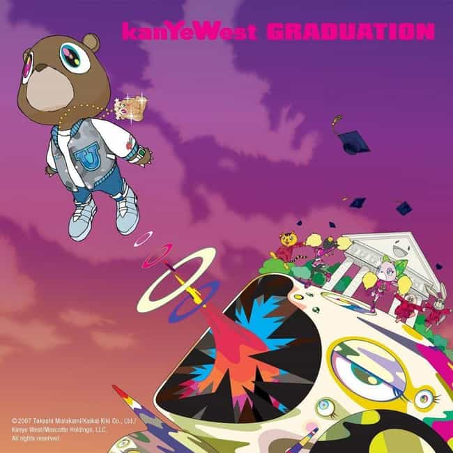 Graduation is listed (or ranked) 3 on the list The Best Kanye West Albums of All-Time