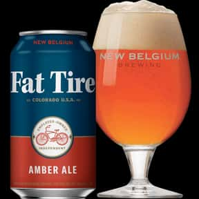 Fat Tire is listed (or ranked) 6 on the list The Best American Domestic Beers