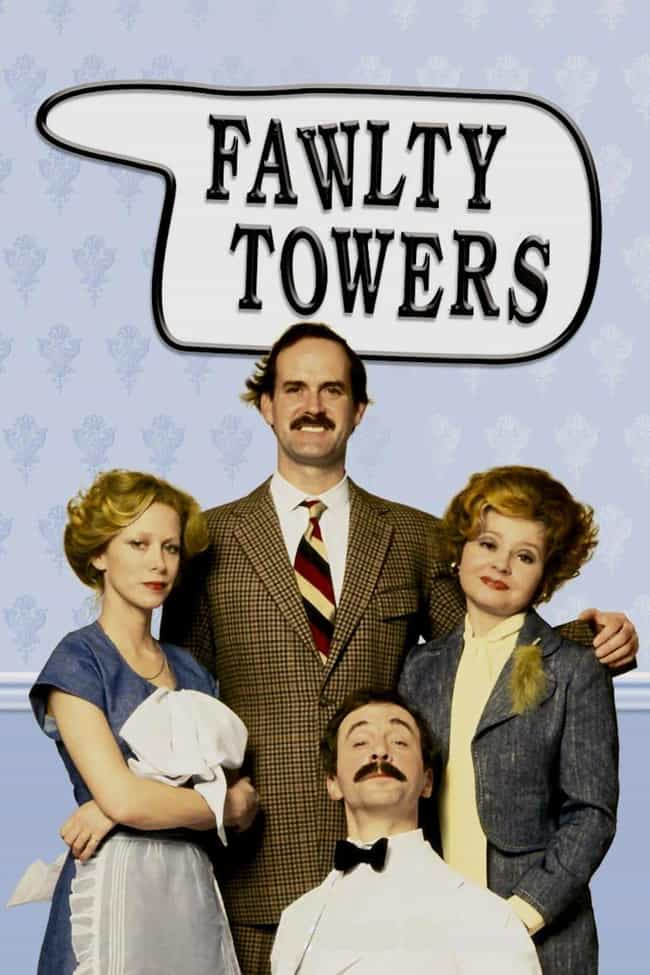Fawlty Towers is listed (or ranked) 2 on the list John Cleese Shows and TV Series