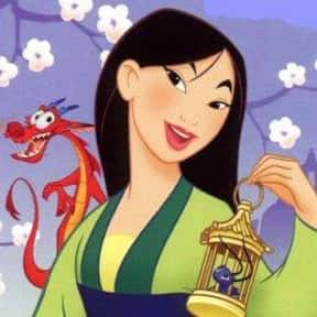 Mulan is listed (or ranked) 4 on the list The Best Disney Princesses