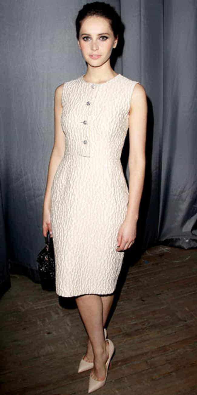 Felicity Jones is listed (or ranked) 3 on the list Celebrities in Dolce & Gabbana Dresses