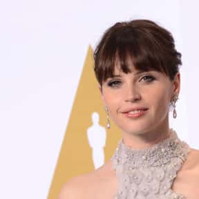 Felicity Jones is listed (or ranked) 9 on the list Famous People Whose Last Name Is Jones