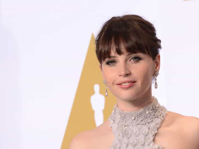 Felicity Jones is listed (or ranked) 2 on the list Servants Cast List