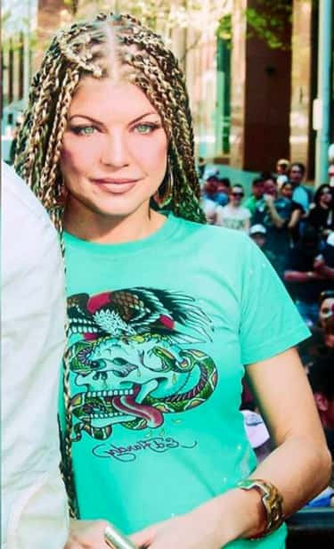 Fergie Rocking Predator Braids