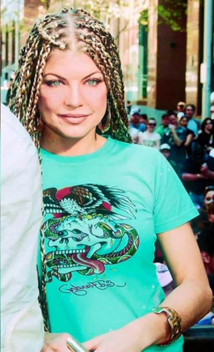 Fergie Rocking Predator Braids