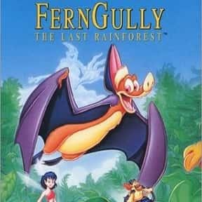 FernGully: The Last Rainforest is listed (or ranked) 16 on the list The Best '90s Cartoon Movies