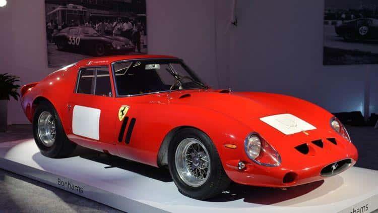 1962 Ferrari 250 GTO - $38.1 Million