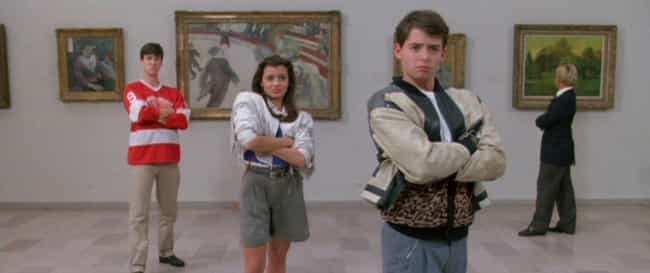 Ferris Bueller's Day Off... is listed (or ranked) 1 on the list Movie Characters Demonstrate Proper Social Distancing Techniques