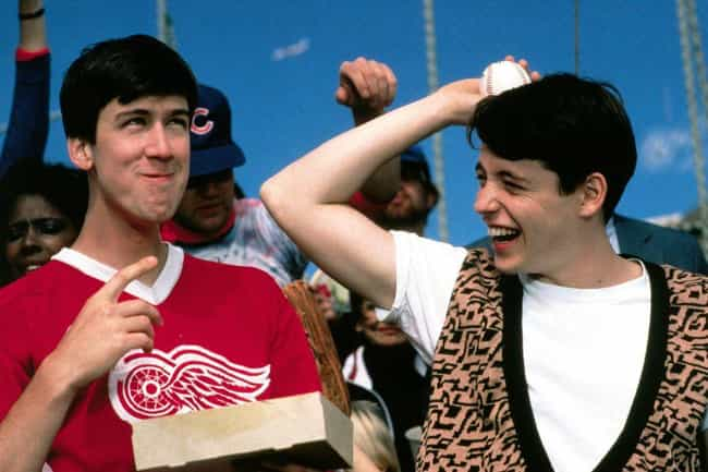 Ferris Bueller's Day Off is listed (or ranked) 3 on the list Surprisingly Plausible Fan Theories About Super Famous Comedy Movies