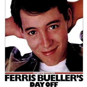 Ferris Bueller's Day Off is listed (or ranked) 15 on the list The Best Rainy Day Movies