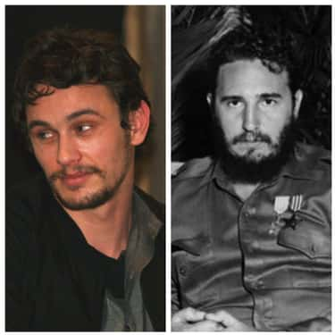 James Franco As Fidel Castro is listed (or ranked) 6 on the list Historical Figures And The Actors Who Should Portray Them In A Biopic
