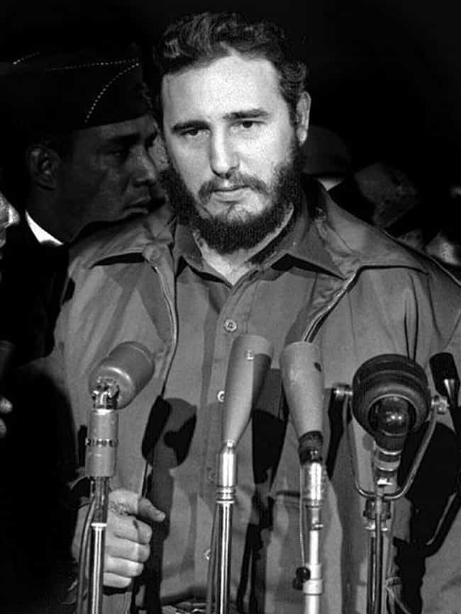 Fidel Castro is listed (or ranked) 2 on the list 14 Suave Playboys From Throughout History Who Are Actually Total Scumbags