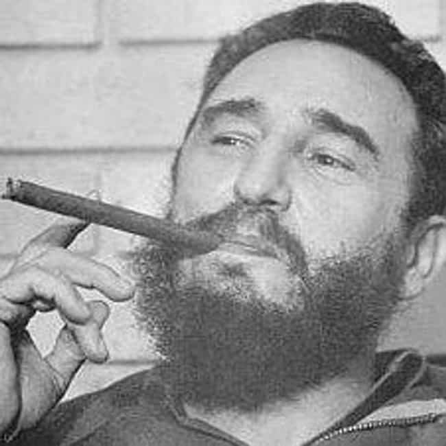 Fidel Castro is listed (or ranked) 1 on the list Bizarre Obsessions of Dangerous Dictators