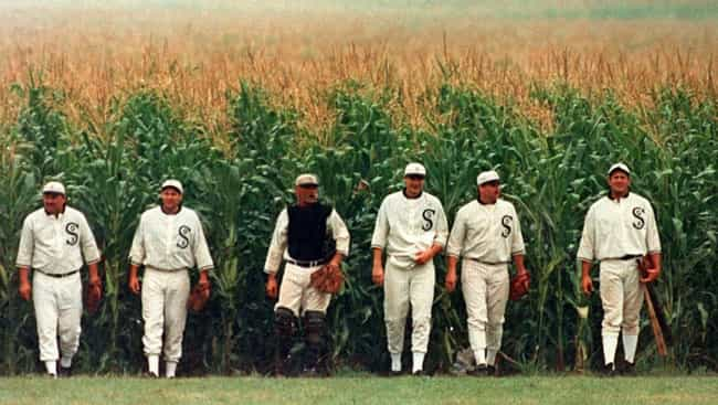 Field of Dreams is listed (or ranked) 4 on the list Fictional Sports Teams You Wish You Could Root For IRL