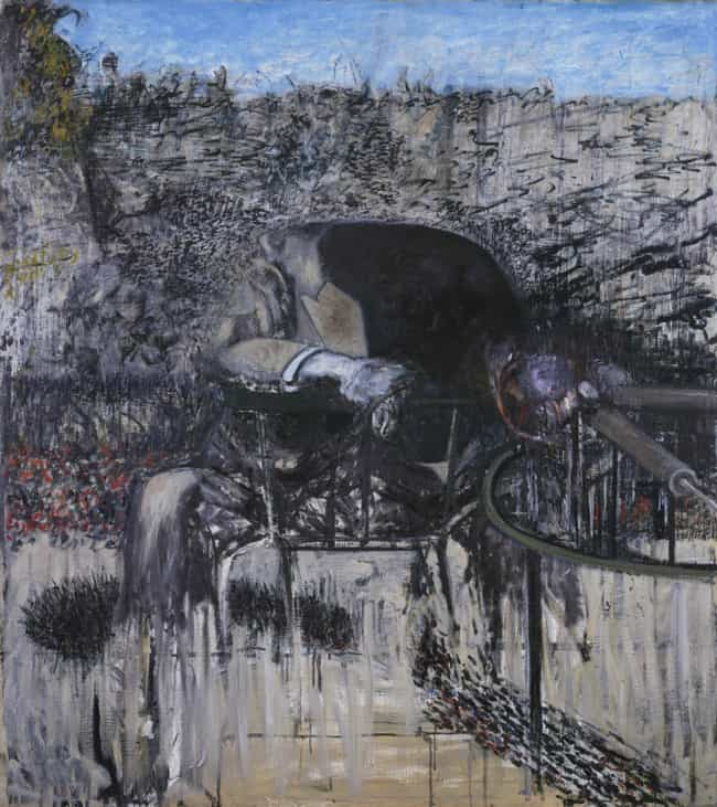 Figure in a landscape is listed (or ranked) 2 on the list Famous Francis Bacon Paintings