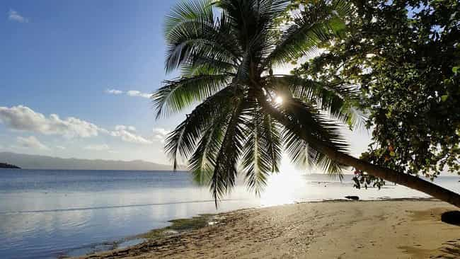 Fiji is listed (or ranked) 6 on the list The Countries with the Best Beaches