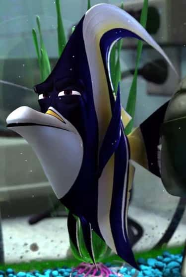 A Tropical Fish In 'Finding Nemo'