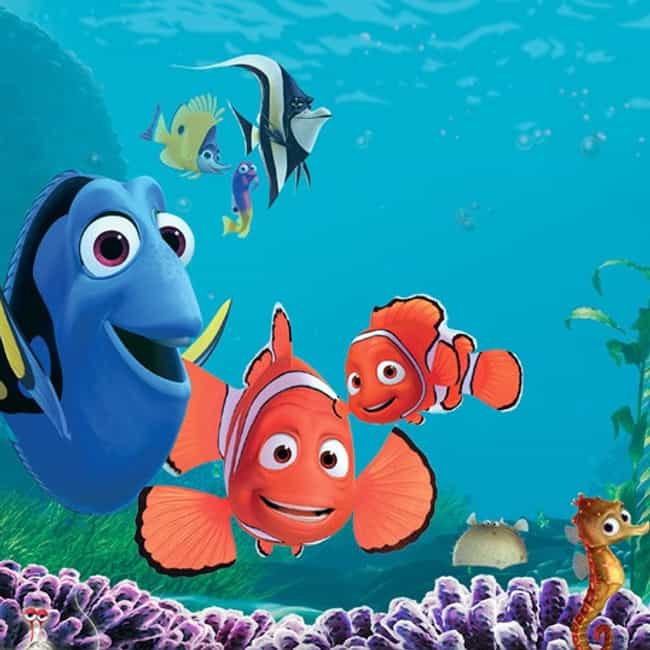 Finding Nemo is listed (or ranked) 4 on the list What to Watch If You Love 'Late Night with Jimmy Fallon'