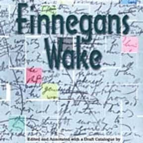 Finnegans Wake is listed (or ranked) 14 on the list The Greatest Experimental Literature