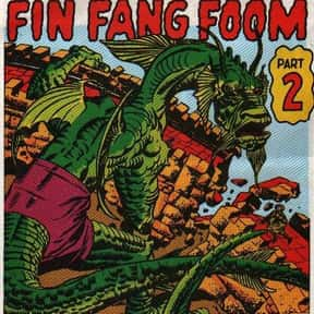 Fin Fang Foom is listed (or ranked) 11 on the list The Best Iron Man Villains Ever