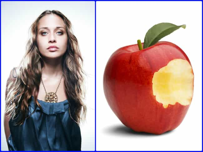 Fiona Apple is listed (or ranked) 3 on the list 30+ Celebrities Whose Names Are Food