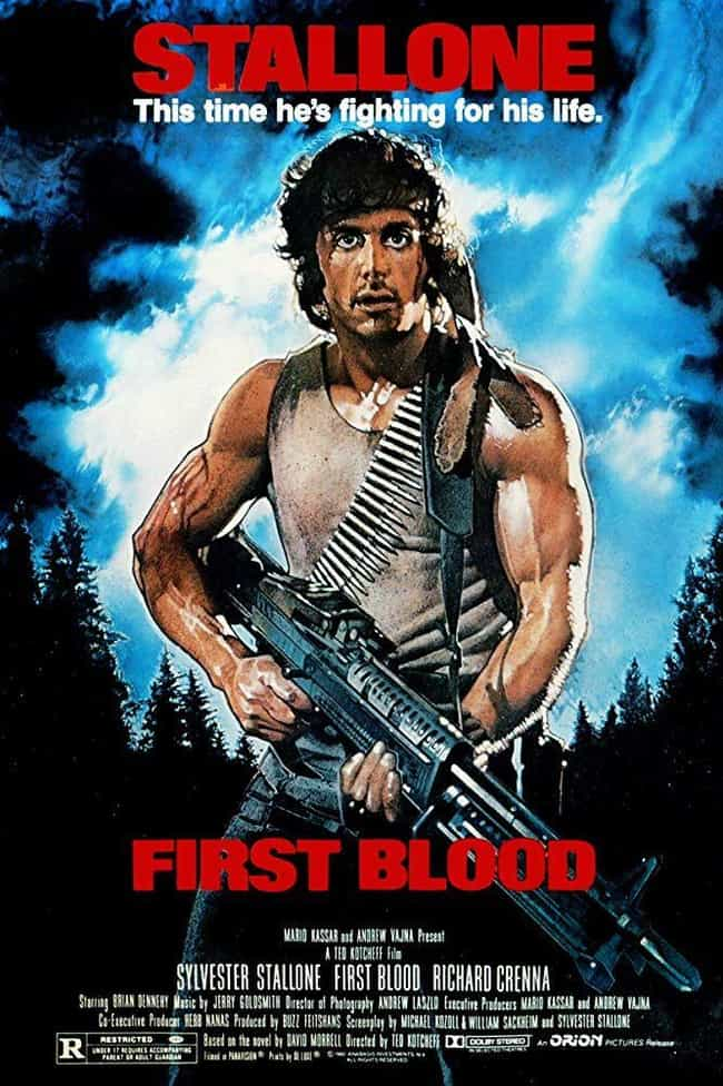 First Blood is listed (or ranked) 1 on the list The Best Movies In The 'Rambo' Franchise