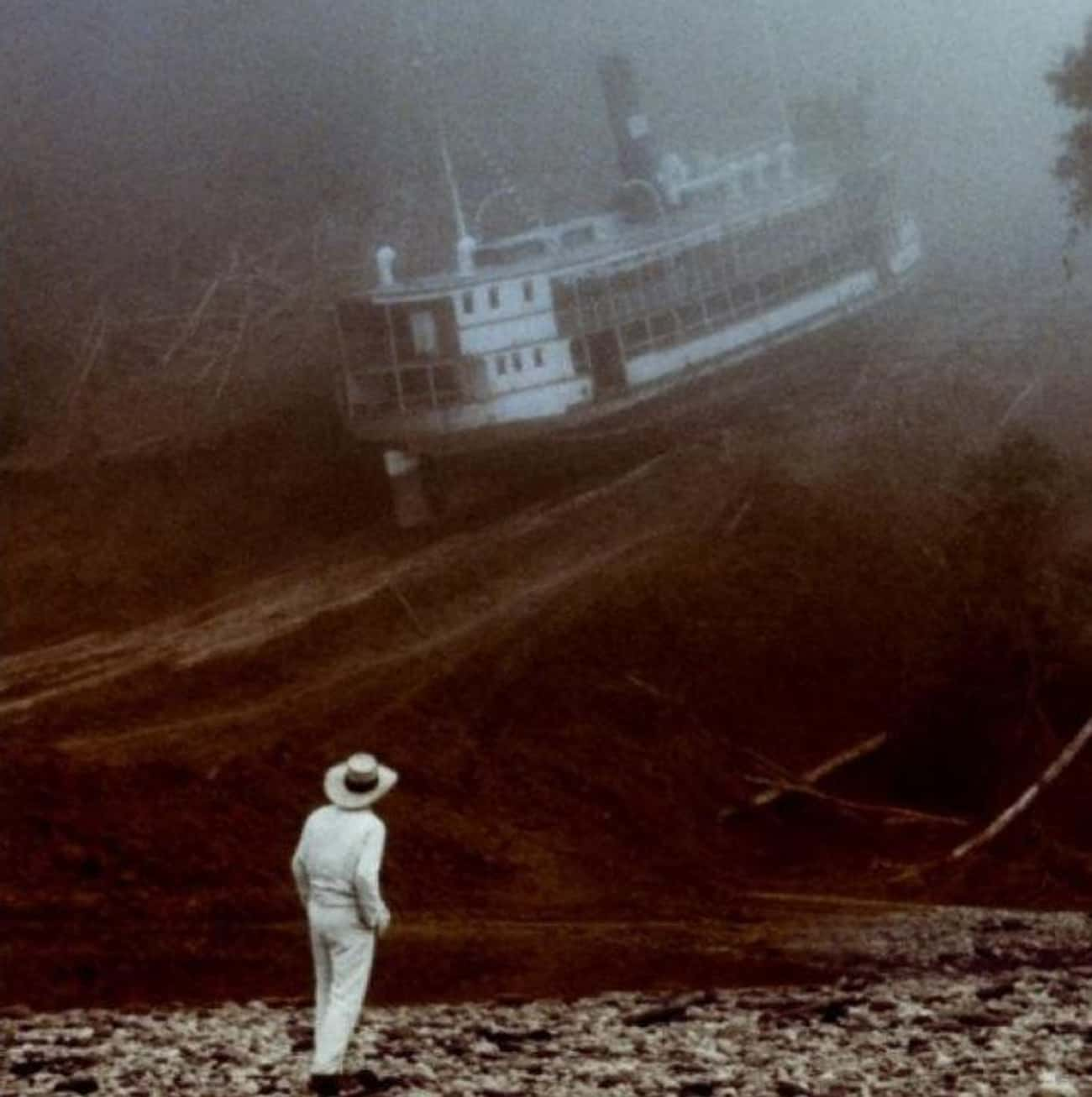 Fitzcarraldo is listed (or ranked) 3 on the list The Darkest Film Shoots in History