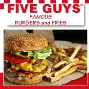 Five Guys is listed (or ranked) 2 on the list The Best Restaurant Chains for Lunch