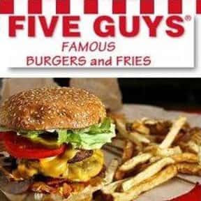 Five Guys Burgers and Fries is listed (or ranked) 1 on the list The Best Allergy-Friendly Restaurants