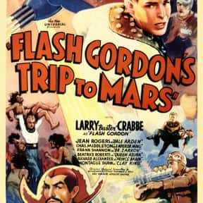 Flash Gordon is listed (or ranked) 1 on the list List of Flash Gordon Characters